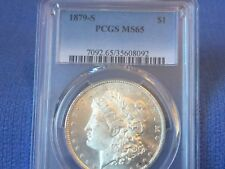 1879 S Morgan Silver Dollar  MS 65