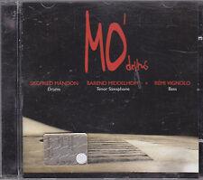SIEGFRIED MANDON / B. MIDDELHOFF / REMI VIGNOLO - mo' drums CD