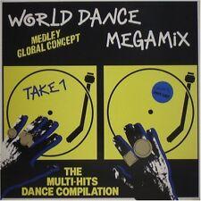World Dance Megamix (1989) Rob Base & DJ E-Z Rock, Mirage, Evelyn Thomas.. [LP]