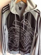 Adidas Originals para hombre S 38-40 Sudadera Con Capucha Sudadera Con Capucha Abrigo Chaqueta de pista