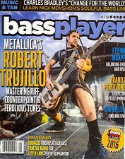 Bass Player January 2017 Metallica's Robert Trujillo+Dudacus+Fractal Audio