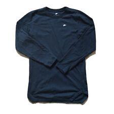 Las Nike Tee Camiseta Negra Manga Larga Cuello Redondo Talla S