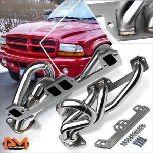For 96-03 Ram/Dakota/Durango 5.2/5.9 V8 Stainless Steel Exhaust Header Manifold