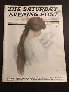 Saturday Evening Post June 8 1918 WW1 Vintage Ads Haynes Cars J C Leyendecker