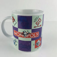 2002 Hasbro Monopoly Game Board Mug By Sherwood Brands