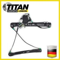 For BMW3 E46 1998-05 Front Left Passenger With Motor Electric Window Regulator