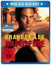 Rapid Fire (1992) Brandon Lee | New | Sealed | Blu-ray Region free