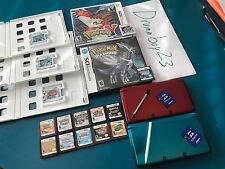 Two Nintendo 3DS's and Super Rare 15 DS 3DS Pokemon Games! heartgold soul silver