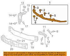 Chevrolet GM OEM 16-18 Malibu Front Bumper Grille Grill-Upper Support 84199161