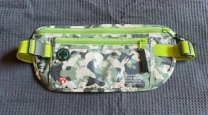 Alpha Keeper Fanny Pack With RFID Blocking-Green Camouflage
