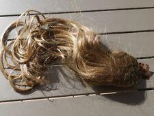 POSTICHE 100% Cheveux naturels. Queue de Cheval.40 cm. Blond doré clair