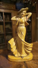 Vintage Classic 1930'S Lady Figurine Made in Occupied Japan
