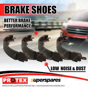 Protex Rear Brake Shoes Set for Suzuki Hatch SS80V 1981-1985