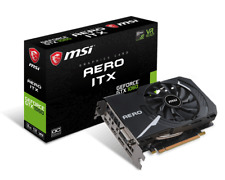 MSI GeForce GTX 1060 AERO 3G 3GB GDDR5 OC ITX video card
