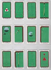 More details for ogdens cig cards set 50 1934  trick billiards   in superb condition  near mint