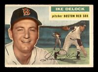 1956 Topps Set Break #284 Ike Delock VG-EX *OBGcards*