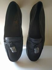 Brand New Black Decoys Women Loafers with Tassel  (Sizes 36/37 & 38)