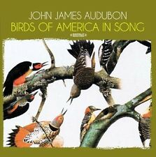 Birds Of America In Song - John Audubon James (2013, CD NEUF) CD-R