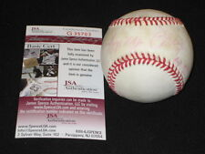 LONNY FREY YANKEES SIGNED AUTOGRAPHED AUTHENTIC RAWLINGS ONL BASEBALL JSA RARE