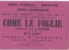 C91-VERONA-BOVOLONE-ARENA SPINIELLA 1901