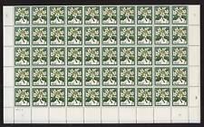 NIUE 1969 FLOWERS 1/2c PUA MINT SHEET of 100 stamps