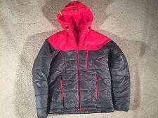 Oakley Primaloft Gray Red Mens Coat - Sz. M