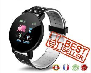 Montre Connectée Bluetooth Smart Watch 119 plus Etanche Sport Ios Android