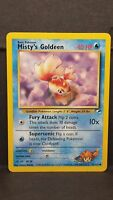 Pokemon Card Misty's Goldeen 85/132 Gym Heroes Common Near Mint