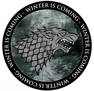 Game Of Thrones Stark - Winter Is Coming Computer Mouse Mat  (aby)