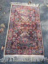 Vintage KARASTAN Kirman Oriental RUG #717 4x6' $1200 Msrp