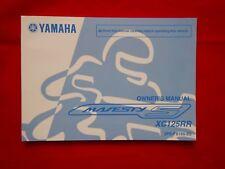 GENUINE 2014 YAMAHA MAJESTY S XC125RR OWNERS MANUAL 2PE-F8199-E0 2015