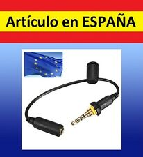 Cable WATERPROOF JACK 3,5mm sumergible auriculares agua funda cascos IPHONE 4 4S
