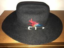Statesman Hat - Made in Australia - Pure Merino Wool Felt - Charcoal - Size 52