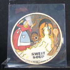"Treasure Tales For Children - Sweet Soup 7"" VG Vinyl 45 Picture Disc"