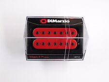 DiMarzio Titan 7 String Neck Humbucker Red W/Black Poles DP 713