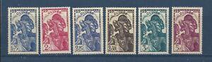 FRENCH GUINEA - 153-158, 160 - MH - 1938-1940 - GUINEA WOMEN