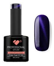 CE102 VB Line Cat Eye Purple Metallic - UV/LED nail gel polish - super quality