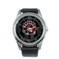 Toronto Raptors NBA Round Metal Watch Gift
