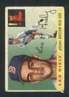 1955 Topps #36 Leo Kiely GVG Red Sox UER 86613