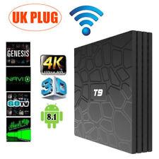 T9 Android 8.1 Smart TV Box Rockchip RK3328 4GB 32GB Quad Core 4K Media Player