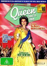 When The Queen Came To Town-DVD Queen Elizabeth ll - Maiden visit Australia 1954
