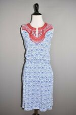 VINEYARD VINES $148 Blue Embroidered Sleeveless Dress Small