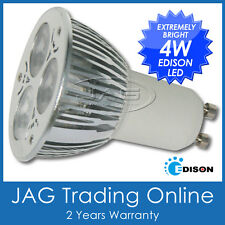 240V 4W 3*1W EDISON LED GU10 COOL WHITE DOWNLIGHT BULB/ DOWN LIGHT CEILING GLOBE