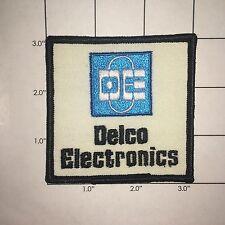 Delco Electronics Patch  - vintage