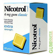 Nicotrol 4mg CLASSIC 12 boxes 1260 pieces Nicotine Quit Smoking Gum
