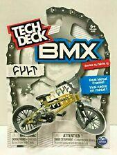 New Tech Deck BMX FINGER BIKES Series 13 CULT Flick Tricks GOLD Metal Frame