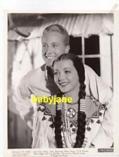 SYLVIA SIDNEY GENE RAYMOND VINTAGE 8X10 PHOTO AS AN INDIAN 1934 BEHOLD MY WIFE