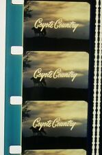 COYOTE COUNTRY  MOVIE AUDUBON WILDLIFE THEATER 1-11 16MM FILM ON REEL + CAN