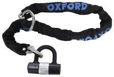 Oxford Chain 8 Lock High Security Chain Bicycle Cycle Bike Lock