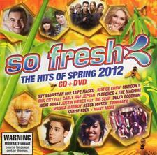 SO FRESH Hits Of Spring 2012 CD & DVD Guy Sebastian Justice Crew Maroon 5 +++